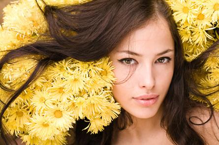Лечение волос травами