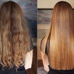 выпрямление волос до и после2