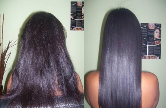 С каким средством выровнять волосы