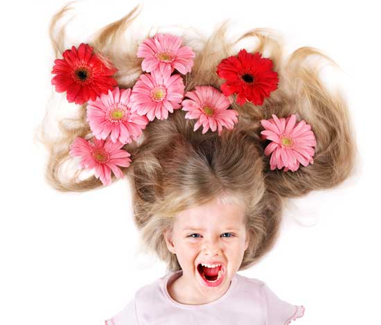 уход за волосами детей