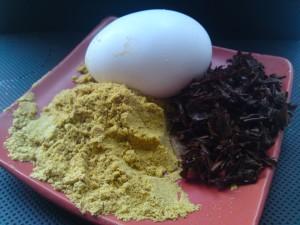 Чай и горчица для волос