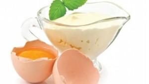 Майонез и яйцо