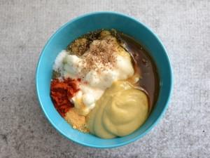 Йогурт и горчица для волос