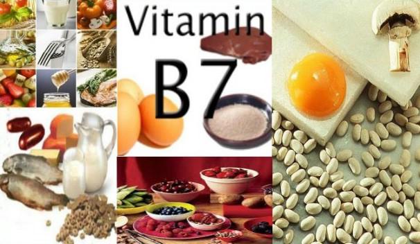 Продукты богатые биотином