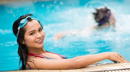 Плавание в хлорированной воде