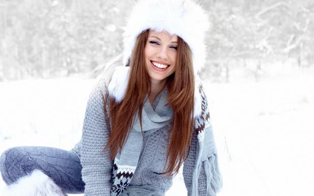 Шапки для волос зимой