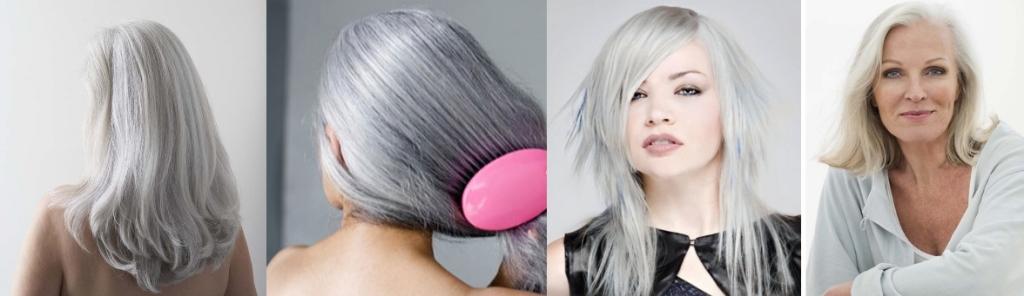 Окраска седых волос хной и басмой фото до и после