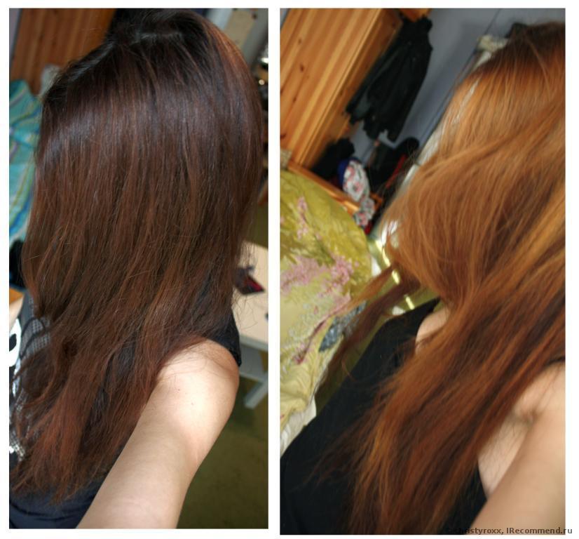 Смывка волос кефиром фото до и после