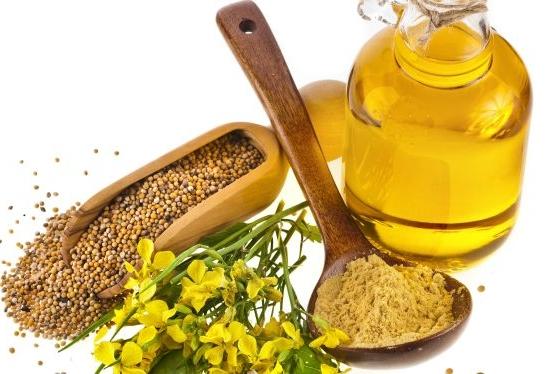 Горчица и репейное масло