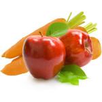 Морковь и яблоко