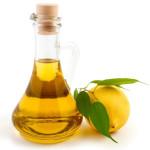 Лимон и масло
