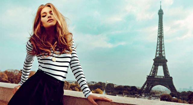 Французская девушка
