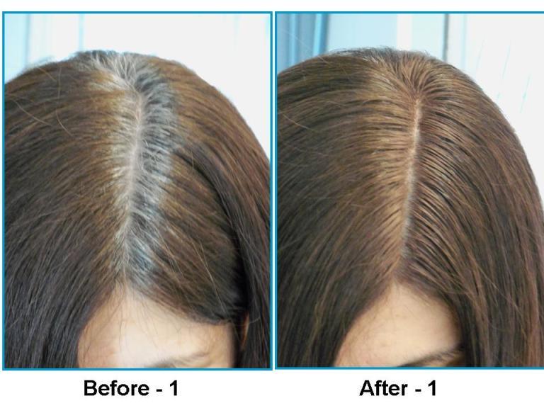 Седые волосы после хны фото