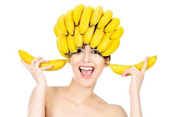 Бананы на голове