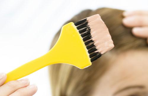 Окраска волос в домашних условиях