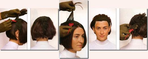 Как правильно наносить краску на волосы