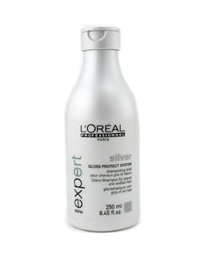 шампунь от седины для мужчин Silver Loreal Professional
