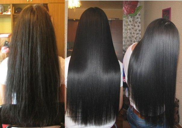 Бразильское ламинирование волос