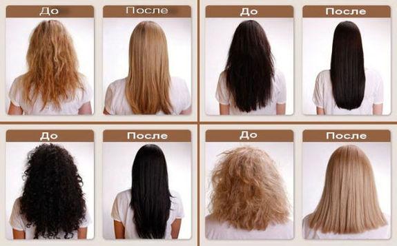 бразильское выравнивание волос