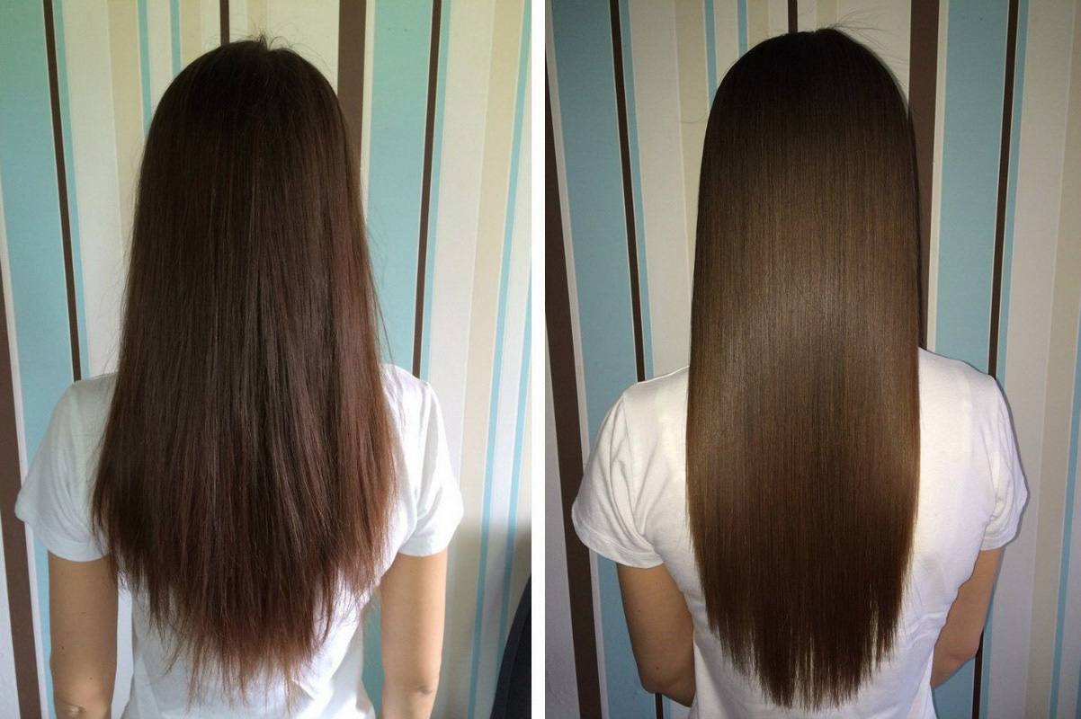 Горячее ламинирование волос