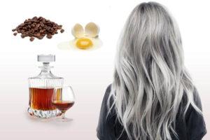 маска для седых волос с кофе
