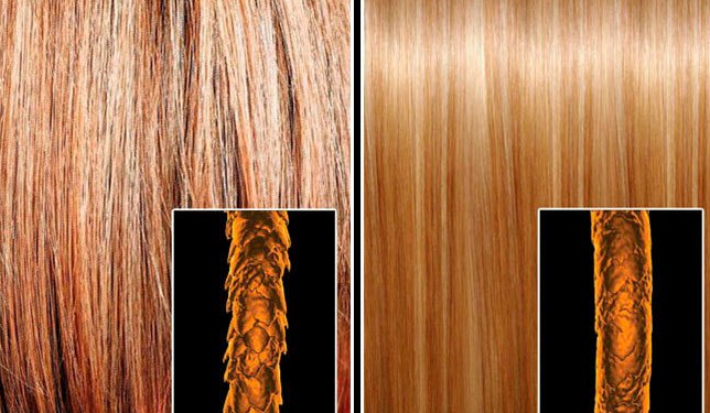 технология ламинирование волос
