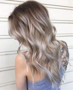 Пепельные волосы