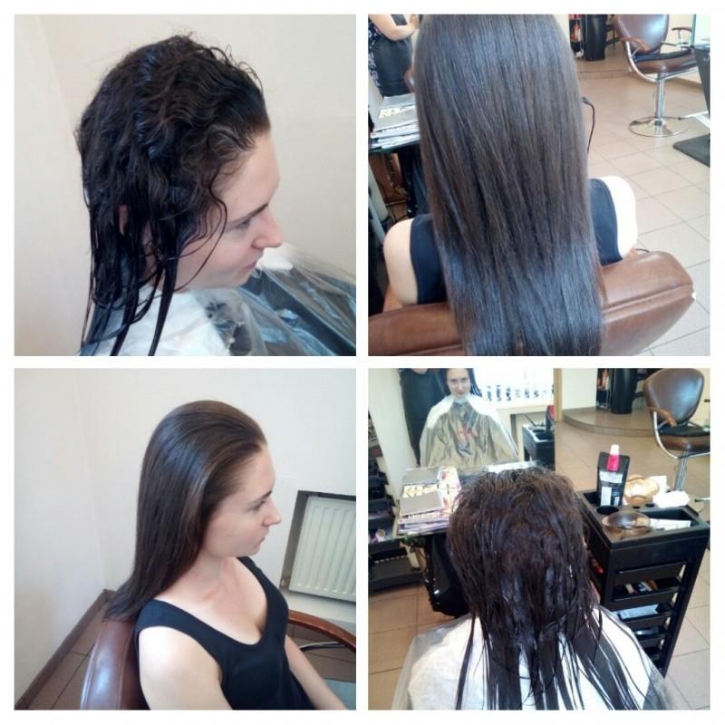 Японское ламинирование волос