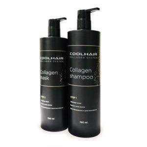 Коллагеновое насыщение волос