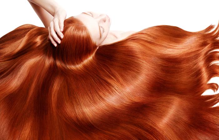 Процедуры для блеска волос