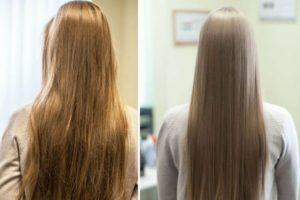 Био протеиновое выпрямление волос: до и после