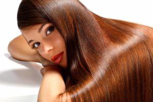 красивые прямые волосы