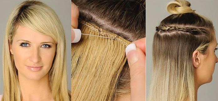 Голливудское наращивание волос —  плюсы и минусы процедуры, подробный обзор