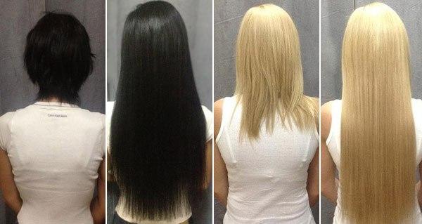 Что потребуется для наращивания волос на капсулах