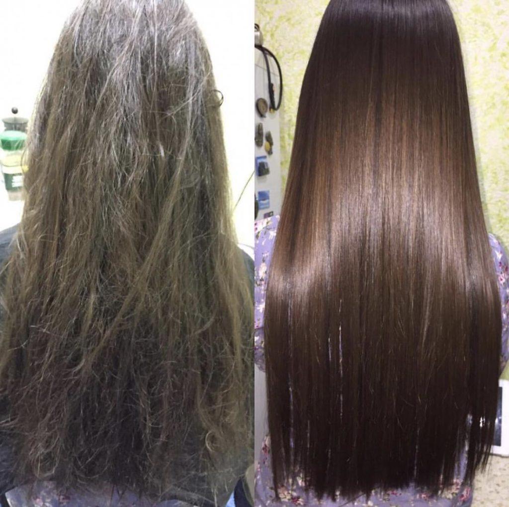 Аминокислотное выпрямление волос что это
