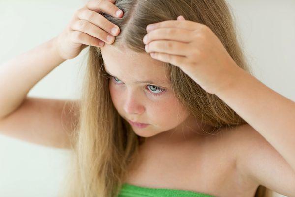 Жирные волосы у ребенка