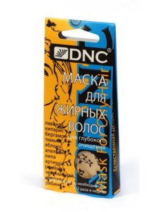 Маска для жирных волос DNC