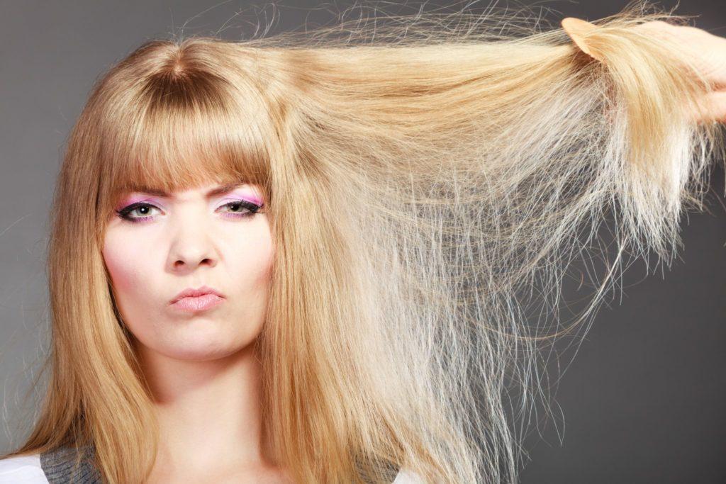 Что делать если волосы стали сухими