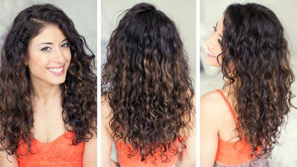 вьющиеся волосы