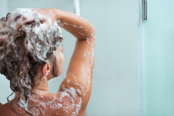 перед мелированием мытье