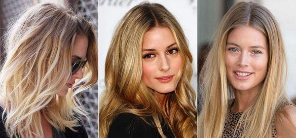 отросшие корни блондинки