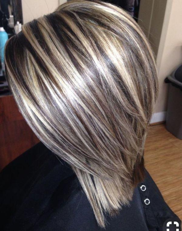 На средние волосы