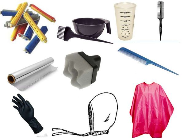 инструменты для мелировки