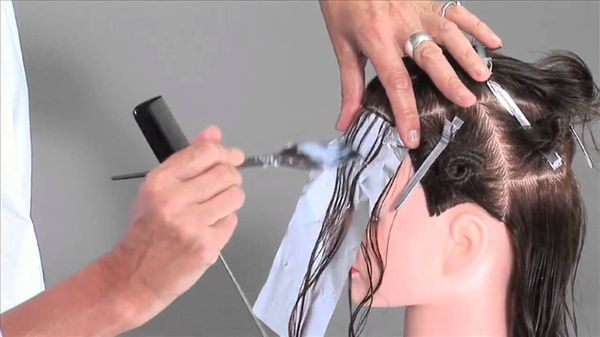 техника мелировки