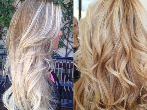 Мелирование на вьющиеся волосы – плюсы и минусы, фото до и после, что это такое, сколько держится и кому идет