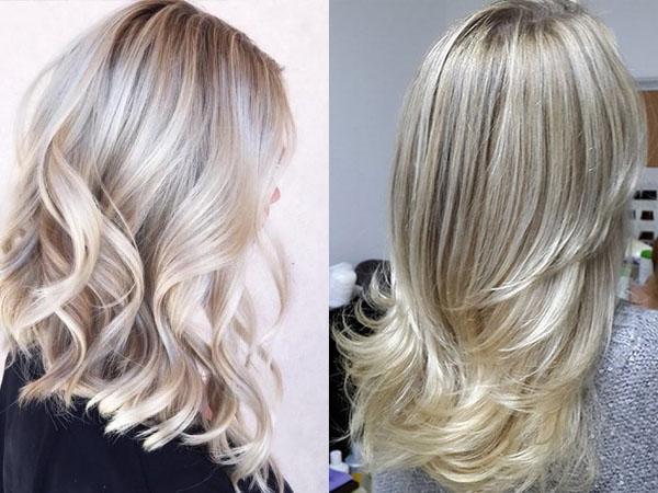 Мелирование на темные волосы волнистые