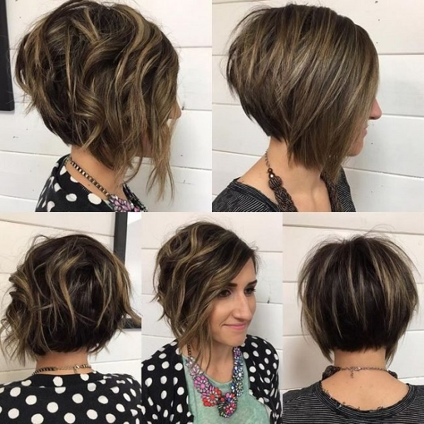 Градуированное каре на короткие и средние волосы: 30 стильных вариантов