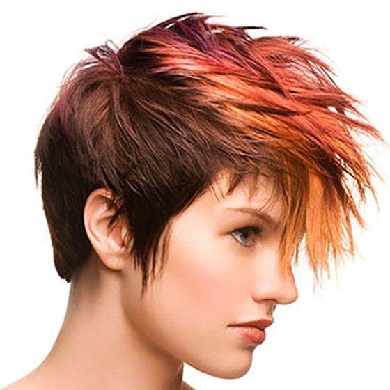 Рыжее мелирование на рыжие волосы (50 фото)