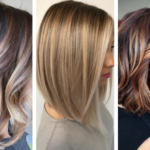 Мелирование на волосы средней длины:плюсы и минусы, фото до и после, цена и ТОП 7 лучших техник