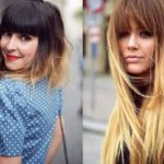 Окрашивание омбре с челкой – на средние, короткие и длинные волосы, 21 фото и подходящие прически